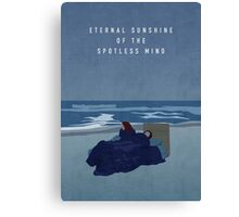 Eternal Sunshine of the Spotless Mind Canvas Print