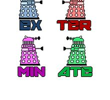 Dalek EXTERMINATE! by Taripony