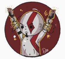 God of War- Kratos. Kids Tee