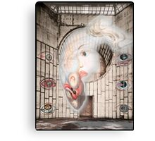 Abandoned Hall of Eye Afflictions Canvas Print