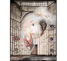 Abandoned Hall of Eye Afflictions Photographic Print