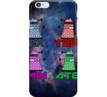 Dalek EXTERMINATE! iPhone Case/Skin