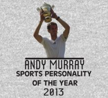 Andy Murray - Sports Personality of The Year 2013 by designCENTRAL