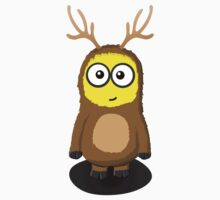 Minion Reindeer by awessell526