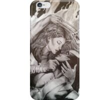 Jean and Logan Phoenix and Wolverine iPhone Case/Skin