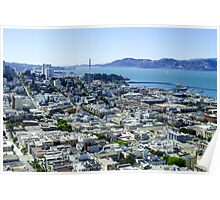 San Francisco, Coit Tower Poster