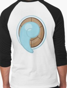 Squirtle Tail Men's Baseball ¾ T-Shirt