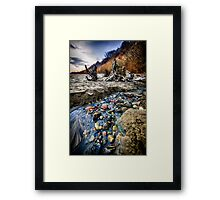 Beach brook at Scarborough Bluffs Framed Print