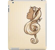 Treble Clef iPad Case/Skin