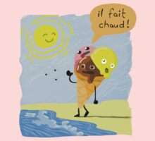 Il fait chaud! (It is hot!) Baby Tee