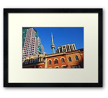 Old and new Toronto Framed Print