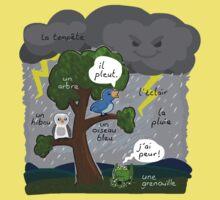 La tempete (The storm) One Piece - Short Sleeve
