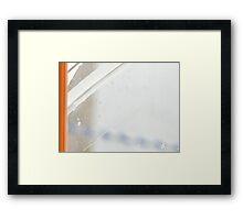 Mend X Framed Print