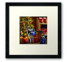 Frienemies Framed Print