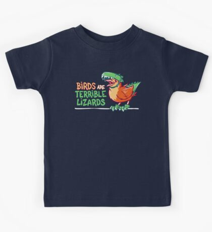 Birds Are Terrible Lizards Kids Clothes