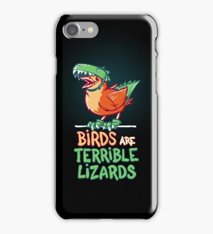 Birds Are Terrible Lizards iPhone Case/Skin