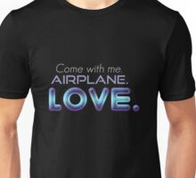 f(x) - Airplane Unisex T-Shirt