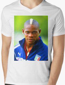 Balotelli Mens V-Neck T-Shirt