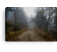"""Country Roads"" Canvas Print"