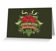 Gotham Landscaping Greeting Card