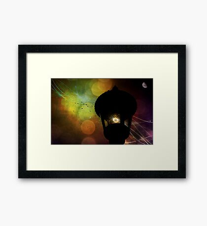 There is magic in the night sky, part 2 Framed Print