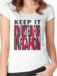 Keep It REAL Women's Fitted Scoop T-Shirt