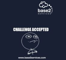 base2 Challenge Accepted Kids Tee