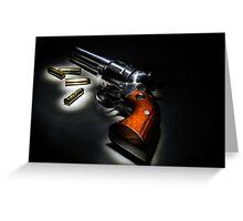 .357 Pistol Greeting Card