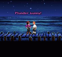Plunder bunny! (Monkey Island 1) by themasrix