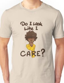Do I Look Like I Care? Unisex T-Shirt