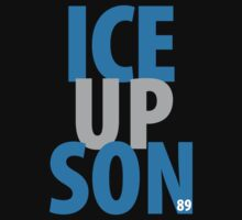 Official Ice Up Son Blue Grey 89! by That T-Shirt Guy