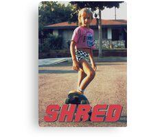 Skate Shred Canvas Print