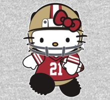 Hello Kitty Loves Frank Gore & The San Francisco 49ers! by endlessimages