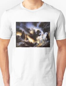 fantacy white horse angel T-Shirt