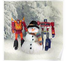 Prime Time Snow Poster