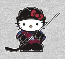 Hello Kitty Loves The Colorado Avalanche! by endlessimages