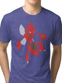 Scizor - lineless Tri-blend T-Shirt