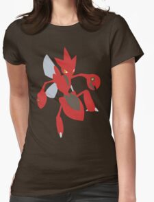 Scizor - lineless Womens Fitted T-Shirt