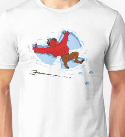 """I Wish I Were"" Snow Devil Unisex T-Shirt"