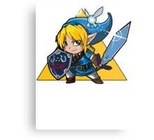 Blue HERO Metal Print