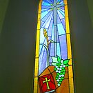 Stained Glass Window by BlueMoonRose