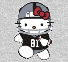 Hello Kitty Loves Tim Brown & The Oakland Raiders! by endlessimages