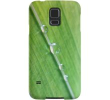 Water Droplets InLine Samsung Galaxy Case/Skin