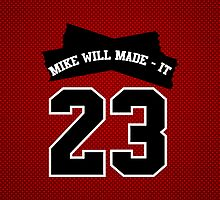 Mike Will Made It - 23 iPad Case [CHICAGO RED] by HoodRich
