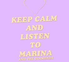 Keep Calm.. Marina and the Diamonds PHONE CASE by nataliaagarzaa