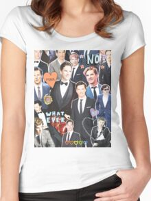 suit up Women's Fitted Scoop T-Shirt