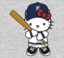Hello Kitty Loves The Detroit Tigers! by endlessimages
