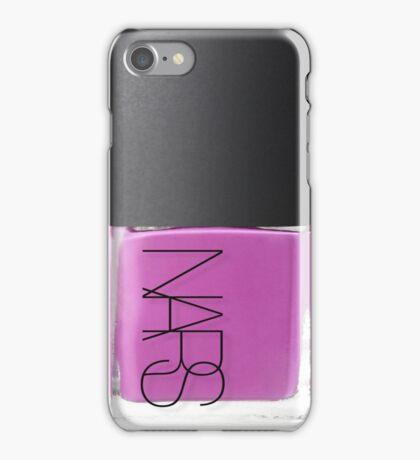 NARS nail polish pink iPhone Case/Skin