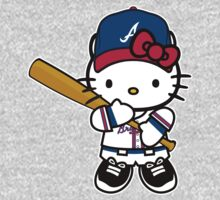 Hello Kitty Loves The Atlanta Braves! by endlessimages
