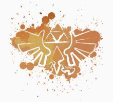 Hyrule Crest Splat (Dark) Kids Tee
